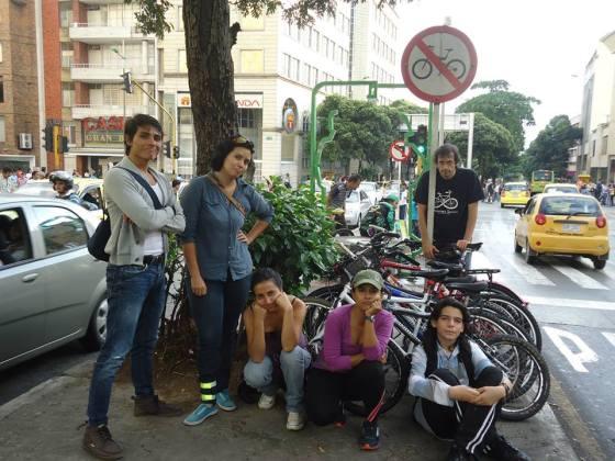 Imágen @MujeresBici-bles. Recorrido Urbano en Bucaramanga